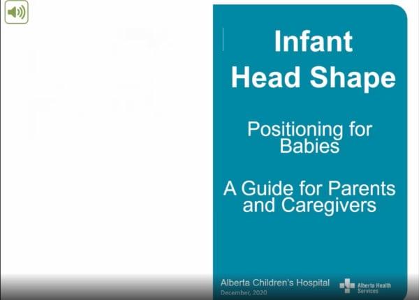 AHC Infant Head Shape Video Thumbnail